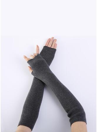 Couleur unie/Crochet Respirant/aux femmes/Des doigts Gants