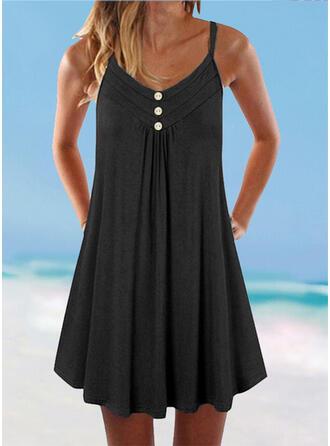 Strap V-Neck Boho Cover-ups Swimsuits