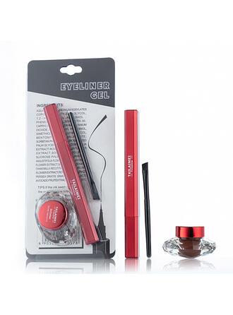 2 PCS Classique Plastique Eyeliner eyeliner liquide avec boîte
