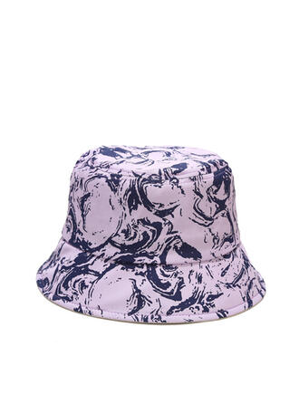 Women's Classic/Simple/Charming Cotton With Tassels Bucket Hats