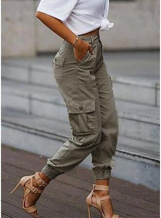 Les poches Grande taille Camouflage Tondu Décontractée Tribal Pantalon