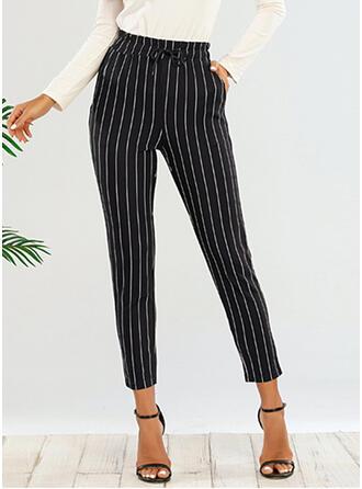 Striped Tondu Élégante Striped Pantalon