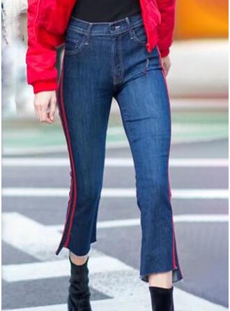 Striped Élégante Ancien Jeans