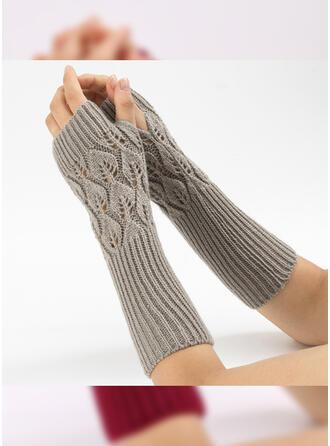 Couleur unie/Crochet attrayant/Confortable Gants
