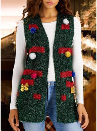 Women's Print Ugly Christmas Sweater