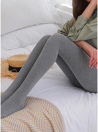 Couleur Unie Longue Élégante Sexy leggings