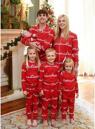 Ours Inmprimé Tenue Familiale Assortie Pyjama De Noël