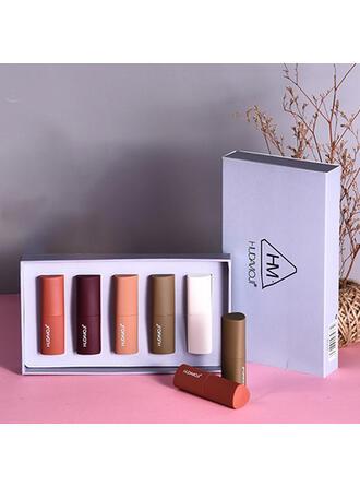5 PCS Mat Ensembles de lèvres avec boîte