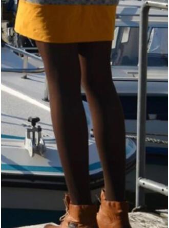 Couleur Unie Longue Décontractée Sexy leggings