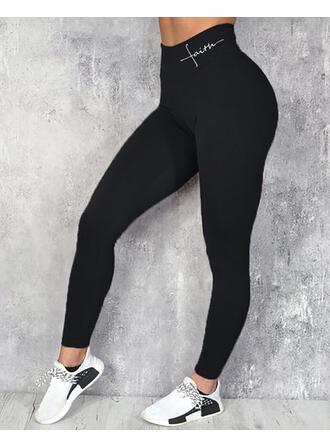 Imprimé Longue Décontractée Sexy Sportif Imprimé leggings