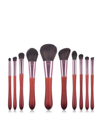 10 PCS Soft Simple Classic Makeup BrushesSets
