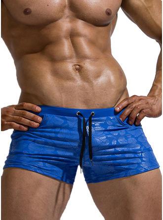 Men's Drawstring Quick Dry Swim Trunks
