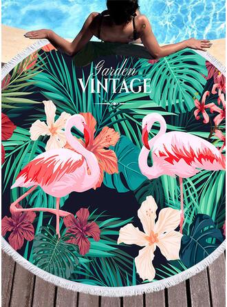Floral/Faune mode/frais serviette de plage