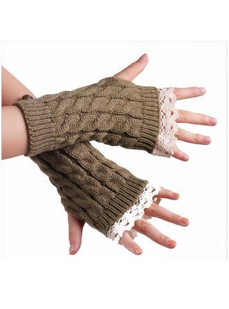 Couleur unie/Crochet mode/Confortable/Des doigts Gants