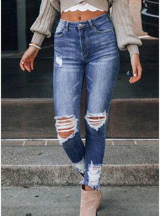 Déchiré Sexy Ancien Jeans