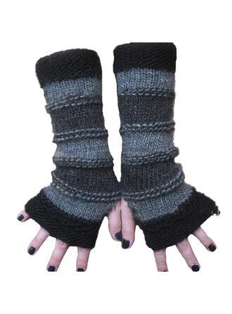 Couleur unie/Retro /Cru/Couture simple/Respirant/Des doigts Gants