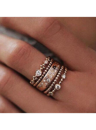 Beautiful Stylish Boho Pretty Alloy Women's Ladies' Girl's Rings 5 PCS