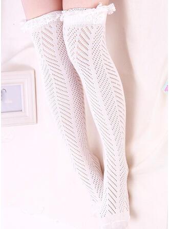 Couleur unie Respirant/Chaussettes hautes Chaussettes/Bas