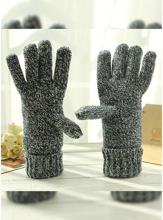 Couleur unie/Crochet simple/Protecteur/Des doigts Gants