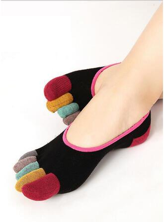 Colorful aux femmes/Doigt de pied/No Show Chaussettes/Sports Chaussettes