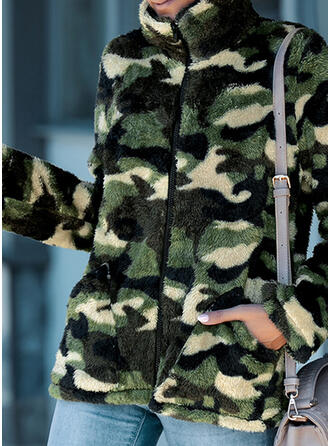 Long Sleeves Camouflage Jackets