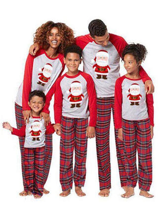 Père Noël Plaid Tenue Familiale Assortie Pyjama De Noël