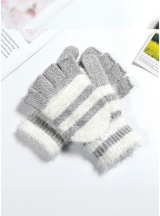 Couture/Crochet Respirant/Doux Pour La Peau/Multicolore Gants