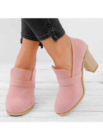 Femmes PU Talon bottier Escarpins Bottes avec Autres chaussures