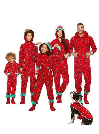 Striped Print Family Matching Pajamas